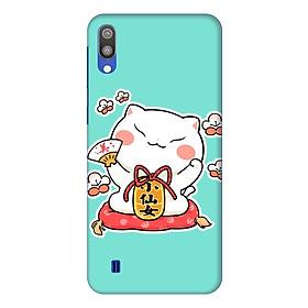 Hình đại diện sản phẩm Ốp lưng dành cho điện thoại Samsung Galaxy M10 hình Mèo May Mắn Mẫu 2 - Hàng chính hãng