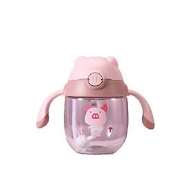 Bình đựng nước tập uống chống sặc nước cho baby e bé Remax RL-Cup76 dung tích 300 ml giao hàng theo màu ngẫu nhiên- hàng chính hãng