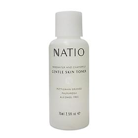 Nước Cân Bằng Dưỡng Da Dịu Nhẹ Natio Rosewater and Chamomile Gentle Skin Toner 75ml