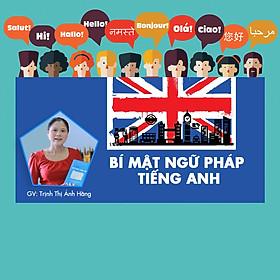 Khóa Học Bí Mật Ngữ Pháp Tiếng Anh