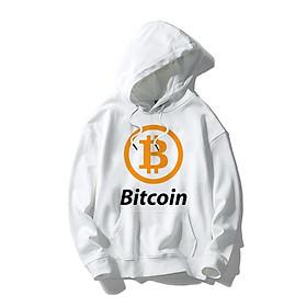 Áo Khoác Hoodie Bitcoin MS01 Kiểu Dáng Unisex