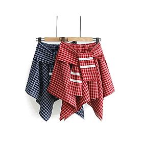 Chân Váy Nữ Sọc Caro Thủy Thủ Xinh GV503 - Giao Mà Ngẫu Nhiên (Free Size)