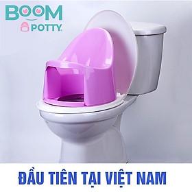 Bô cho bé ,Bô Boom Potty vệ sinh cho bé từ 7 tháng (8.5KG) đến 4 tuổi