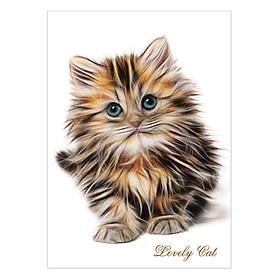 Tranh Động Vật Dễ Thương- Lovely Cat 1T4060-28