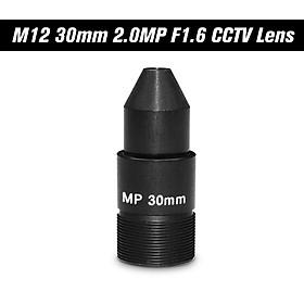 """HD 2.0 Megapixel Pinhole 30mm Lens CCTV MTV Board Lens M12*P0.5 Mount Lens 1/2.7"""" Image Format Aperture F1.6 for"""