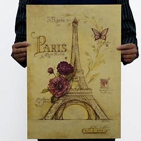 Áp Phích Treo Tường Tháp Eiffel