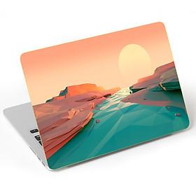 Mẫu Dán Skin Trang Trí Mặt Ngoài + Lót Tay Laptop Thiên Nhiên LTTN - 212