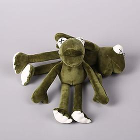 Móc chìa khóa gắn hình chú ếch bông đáng yêu