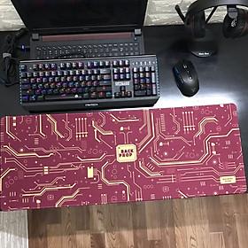 Miếng Lót Chuột, Bàn Di Chuột, mouse pad cỡ lớn Mainboard (80x30x0.3)