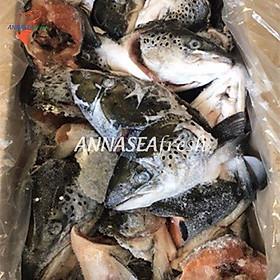 [Chỉ giao HCM] Đầu cá hồi đông lạnh - thùng (22,68kg)