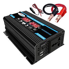 Car Power Inverter DC 12V To 220V AC 50HZ 4000W