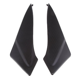 1 Pair of Motorcycle-side Tank Cap Covers for Suzuki