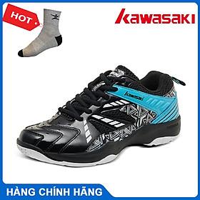 Giày cầu lông Kawasaki K080 hàng chính hãng, dành cho nam và nữ, đủ size - Tặng kèm tất Bendu chính hãng