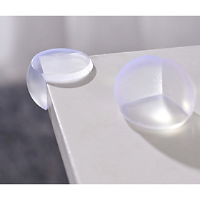 Bộ 12 bọc góc bàn ghế silicon tránh va đập bảo vệ bé yêu ( 12 cái)
