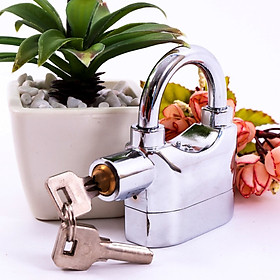 Ổ khóa chống trộm thông minh, Có còi báo động, an toàn dễ sử dụng