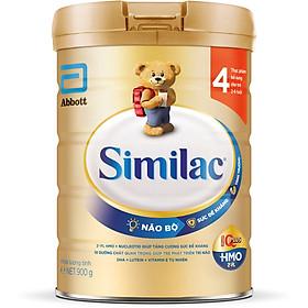 Sữa Bột Cho Bé Similac Eye-Q 4 HMO 900g Gold Label