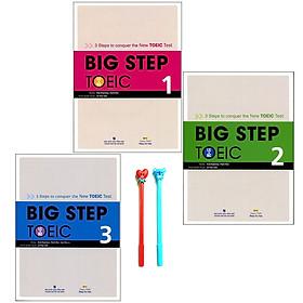 Combo Big Step TOEIC 1, 2 và 3 (LC + RC) - Kèm CD ( Tặng Kèm Viết )