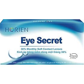 [Một cặp] Kính Áp Tròng Trong Suốt Dùng 1 Tháng Eye Secret KT1T