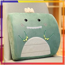 Gối tựa lưng ghế văn phòng hình thú giúp không đau lưng, chiếc gối sẽ làm bạn thoải mái và dễ chịu trong lúc ngồi làm việc