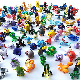 Pokémon - Bộ sưu tập đồ chơi mô hình Pokémon vui nhộn (120 chi tiết)