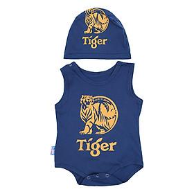 Bộ Bodysuit Tiger MihaBaby BDS11_TIGER - Navy
