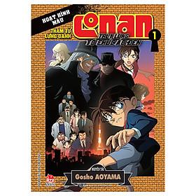 Thám Tử Conan Hoạt Hình Màu: Truy Lùng Tổ Chức Áo Đen - Tập 1