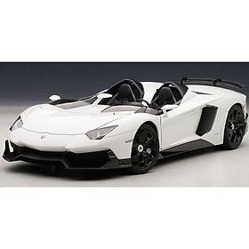 Xe Mô Hình Lamborghini Aventador J 1:18 Autoart - 74674 (Trắng)