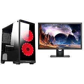 Máy tính bộ CPU intel core i5 2400 RAM 8GB HDD 250GB (MH Dell 22 inch Wide Led) tặng bàn phím giả cơ + chuột chuyên Game có đèn Led 7 màu - hàng nhập khẩu