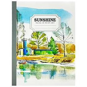Sổ May Gáy Sunshine A4 200 Trang 3675 - Lake