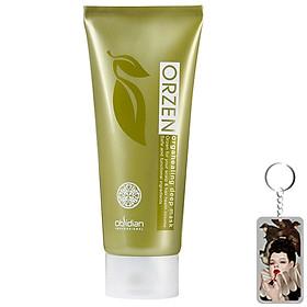 Mặt nạ chống rụng tóc Obsidian Professional Orzen Orgahealing Deep Mask Hàn Quốc 200ml Tặng kèm móc khoá