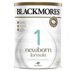 Sữa bột công thức Blackmores NewBorn Formula Stage 1 cho bé từ 0 đến 6 tháng tuổi (900g)