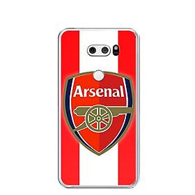 Ốp lưng dẻo cho điện thoại LG V30 - 0168 ARSENAL - Hàng Chính Hãng
