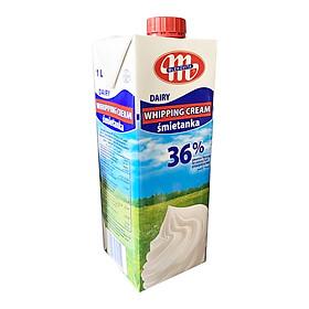 Kem Whipping Cream Tiệt Trùng 36% Mlekovita 1000ml