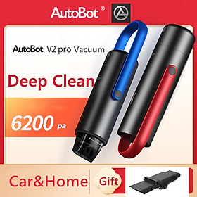 AutoBot V2 Pro Cordless Car Vacuum Cleaner Handheld & Portable Vacuum HEPA Filter Strong Suction 6200 Pa for Car Home Office