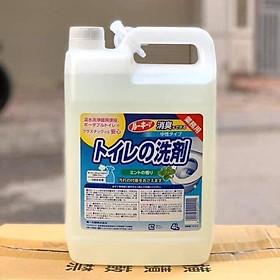 Nước tẩy rửa nhà vệ sinh, toilet, lau sàn WAI 4l (tsale sốc)