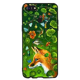 Hình đại diện sản phẩm Ốp lưng viền TPU cao cấp cho điện thoại Oppo F5 -Fox 03