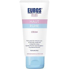 Kem Dưỡng Toàn Thân Ngừa Chàm sữa, hăm cho trẻ em EUBOS Haut Ruhe Cream 50ml