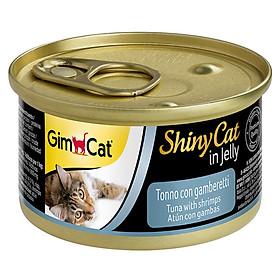 Pate cho mèo GimCat ShinyCat in Jelly 70g
