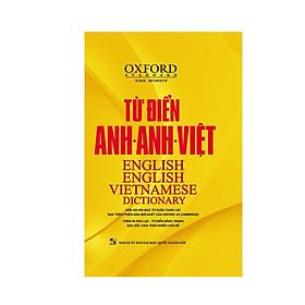 [Download sách] Từ điển Oxford Anh Anh Việt bìa vàng( tặng kèm hộp Flashcard 360 động từ bất quy tắc Tiếng Anh từ A-Z )