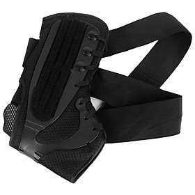 Ankle Stabilizer Brace Support Sports Safety Stirrup Compression Strap for Ankle Sprains Injuries Strains-4