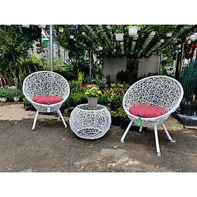 Bộ bàn ghế sân vườn NAVICOM N1 ( Nệm nhiều màu)
