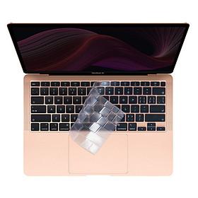 Bàn phím bảo vệ silicon TPU Skin Cover cho 2020 MacBook Air 11 Inch (A1370 / A1465)