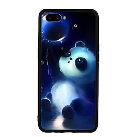 Ốp lưng Viền TPU Cho Điện Thoại Realme C1 - Panda