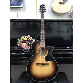 Đàn guitar Acoustic MKAC951, thùng eo, màu nâu rìa, Việt Nam, bao da 2 lớp, bộ dây dự phòng(ảnh thật)