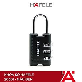 Khóa số Hafele 20301 màu đen - 482.09.003 (Hàng chính hãng)