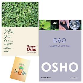 [Download Sách] Combo Đạo - Trạng Thái Và Nghệ Thuật và Mỗi Ngày Trọn Một Niềm Vui( Tặng Kèm Sổ Tay Xương Rồng)