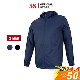 Áo Khoác Nam 5S (TK009) Cao Cấp 2 Lớp Vải Gió Ấm Áp Cản Gió, Chống Nước Hiêu Quả Nhiều Màu
