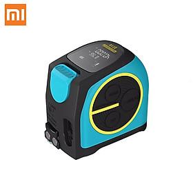 Máy đo dải laser kỹ thuật số 2 trong 1 Xiaomi Mileseey DT10 mới Máy đo khoảng cách bằng laser với màn hình kỹ thuật số LCD Móc từ tính