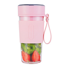 300ml  Mini Portable Electric Fruit Juicer Automatic Blender Baby Food Milkshake Mixer Juicing Cup Multi-function Fruit