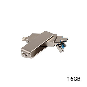 USB Ổ Flash 3 Trong 1 Micro USB / USB 2.0 Cho IPhone IPad Mini Que Nhớ 16Gb 32Gb 64Gb 128Gb